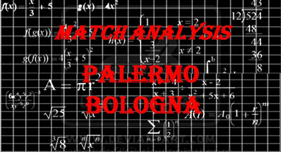 Match analysis PALERMO-BOLOGNA - 14 apr