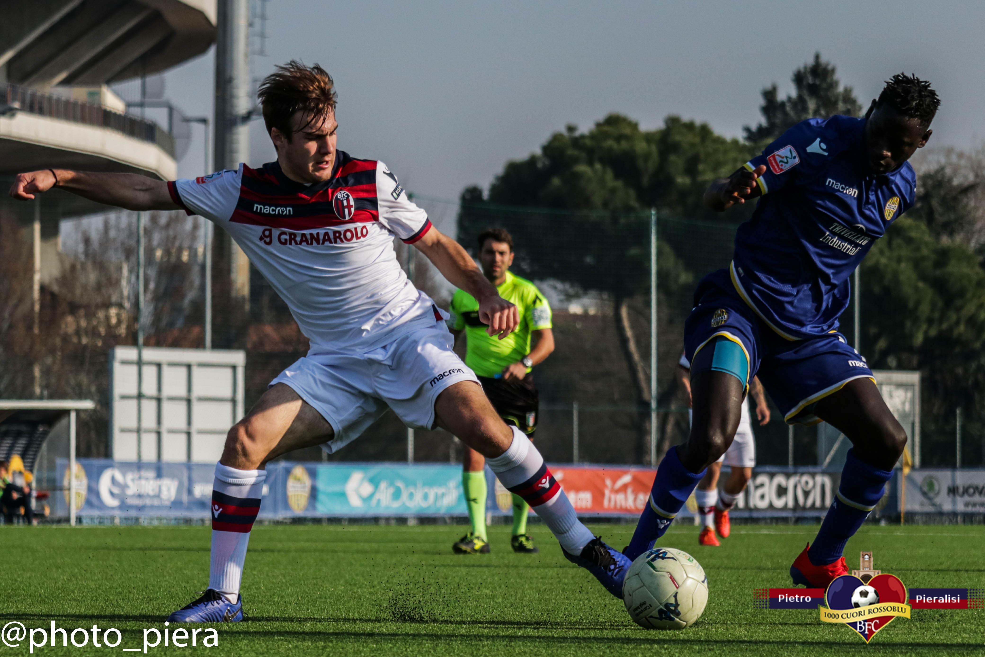 Primavera: Verona - Bologna. Le foto della partita.