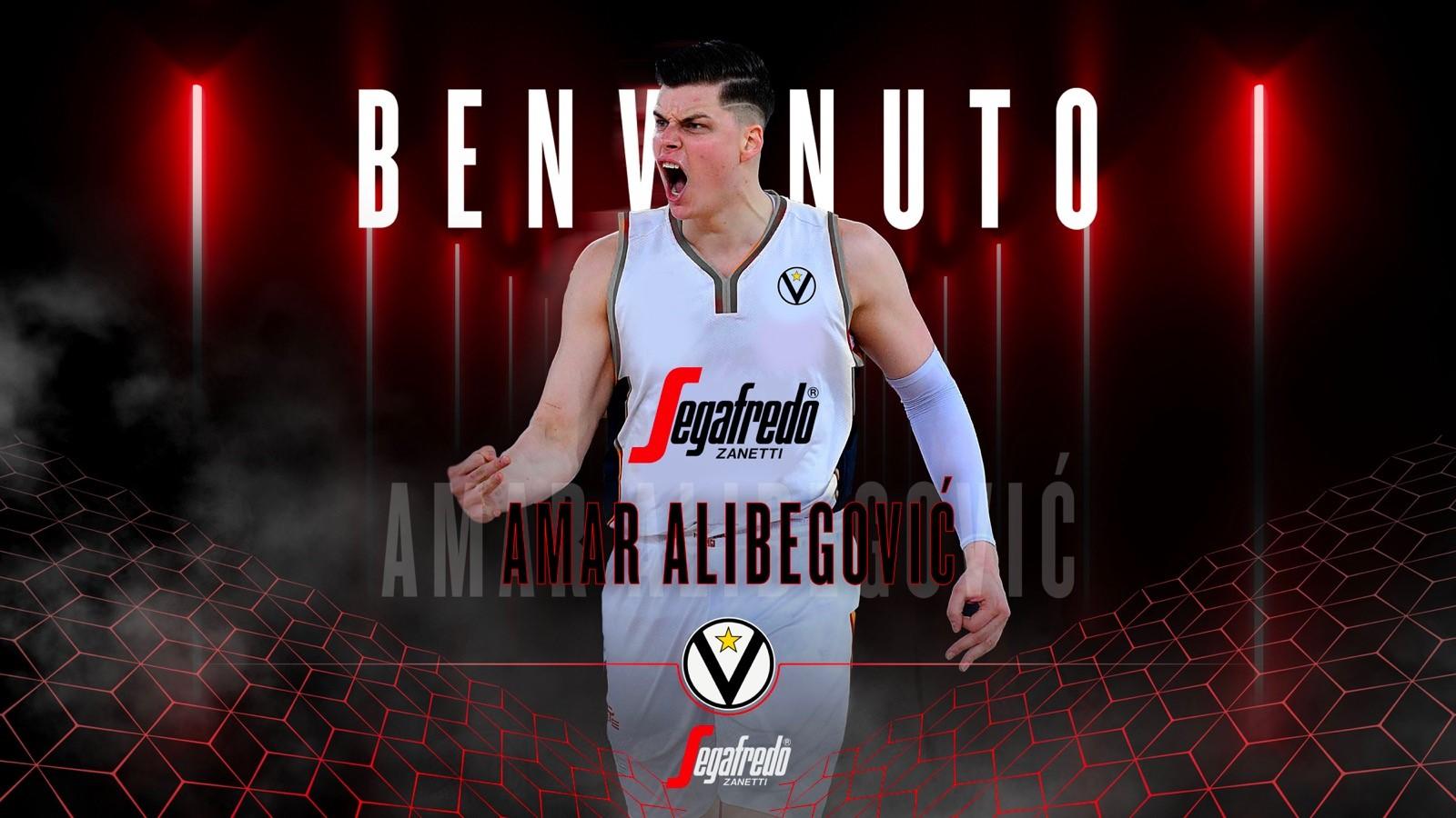 Virtus Segafredo: Amar Alibegovic è il primo colpo di mercato bianconero