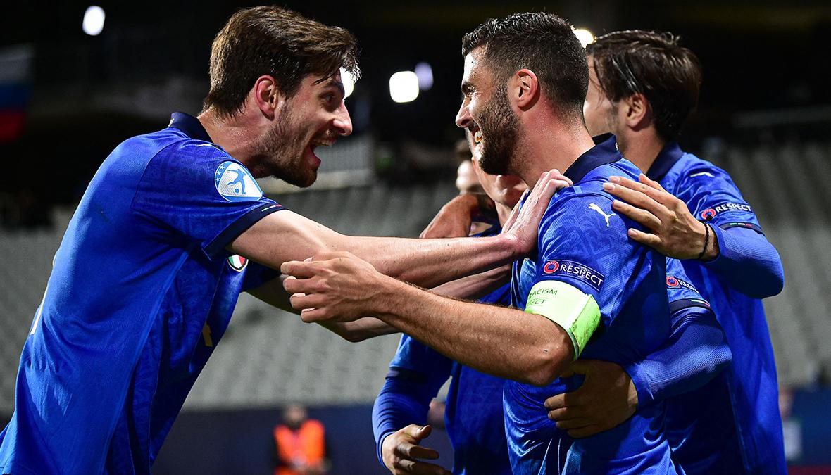 Italia-Slovenia 4-0: la Nazionale under21 ai quarti di finale dell'Europeo