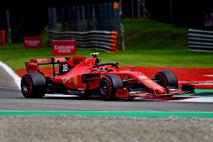 Formula 1 : Gp d'Italia - Leclerc piglia tutto