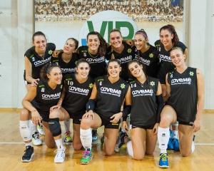 Volley Serie B1- La Coveme espugna il campo della capolista Conad Ravenna e continua la corsa verso la vetta