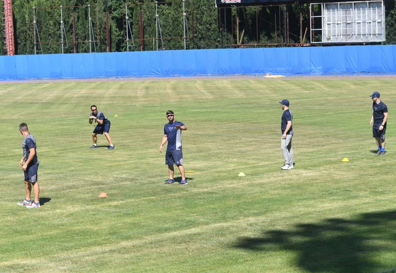 Resto del Carlino - La Fortitudo baseball si è ritrovata al Falchi per riprendere gli allenamenti