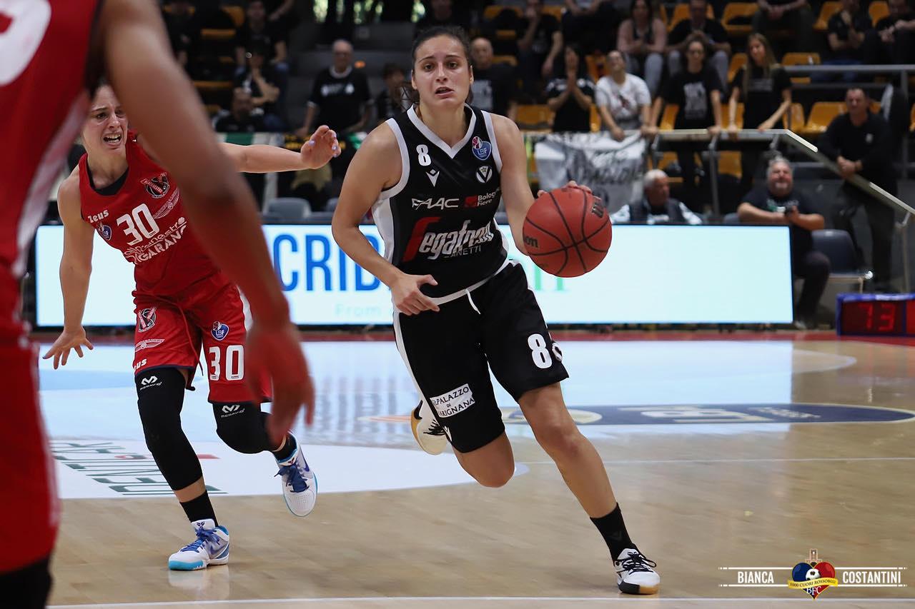 Grave sconfitta contro Torino per la Virtus femminile (77-85) alla Segafredo Arena