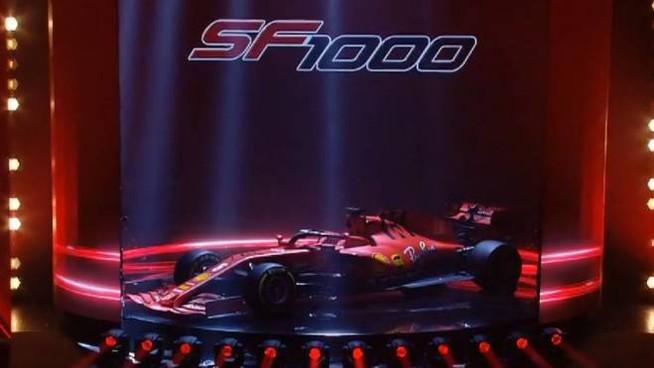 Formula 1: Ferrari, presentazione SF1000