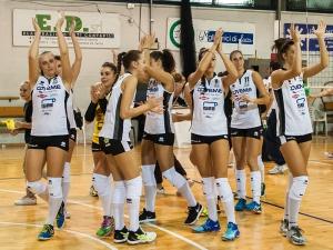 Serie B1 - Al Pala Kennedy una splendida Coveme supera l'Olimpia Ravenna 3-1 e bissa il successo della scorsa settimana - 14