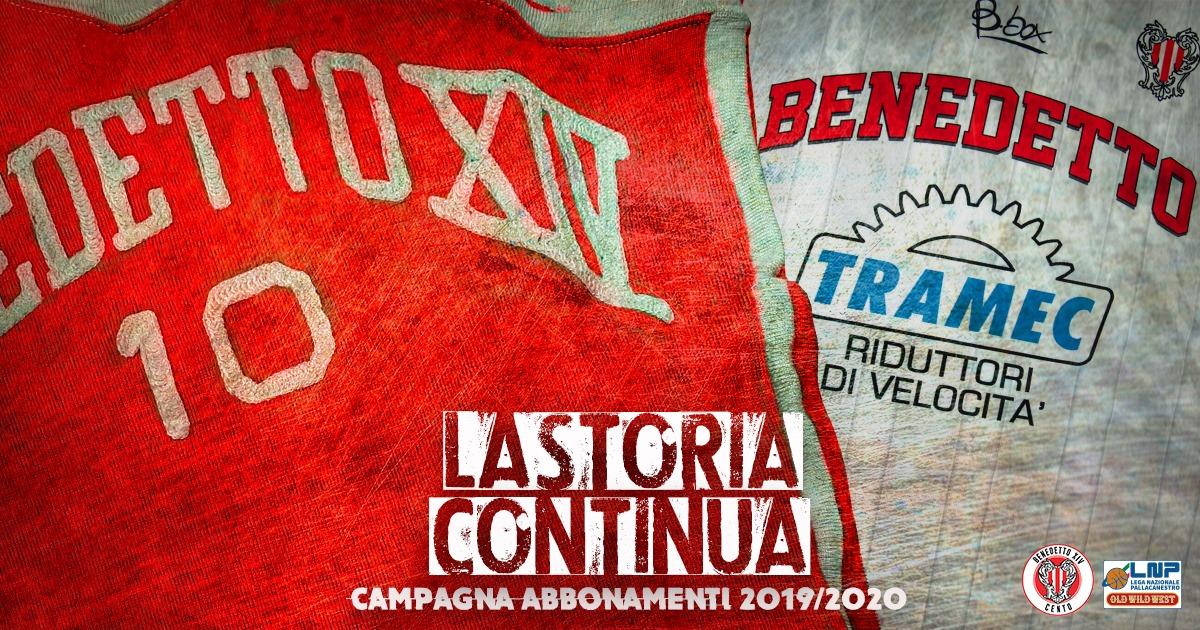 """""""La Storia Continua"""": tutte le informazioni sulla campagna abbonamenti 2019-2020 della Tramec Cento"""