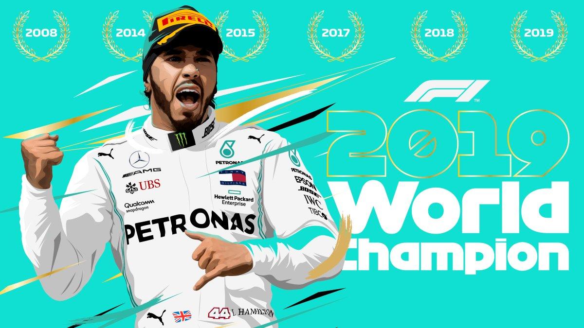 Formula 1 - Gp degli USA: Lewis Hamilton è il campione del mondo 2019