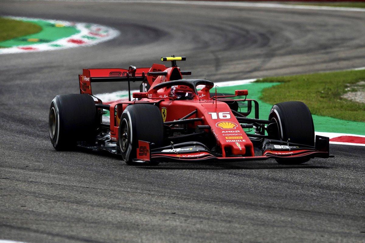 Formula 1 - Gp d'Italia: è un Leclerc spettacolo