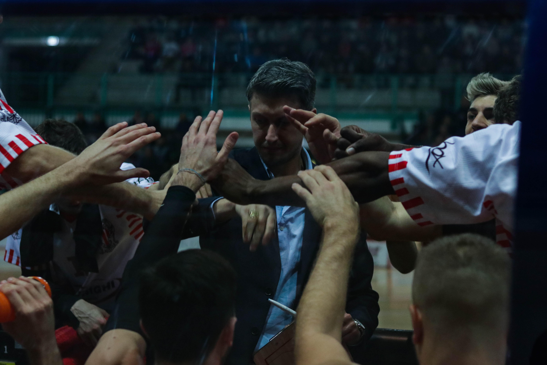 Tramec Cento-Teramo, le parole di coach Mecacci a fine partita
