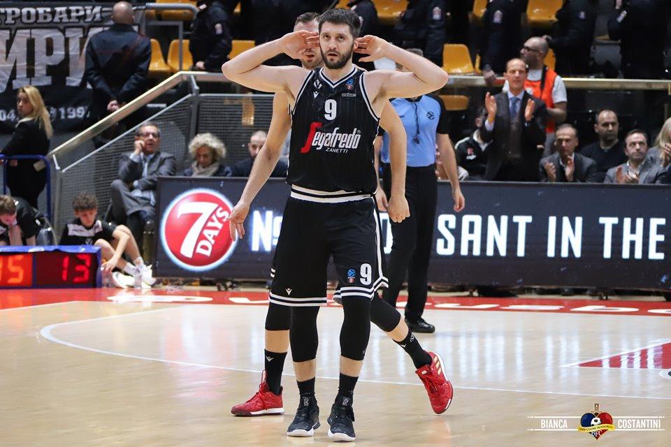 La Virtus Segafredo fallisce la prima prova di maturità, sconfitta in casa quasi sulla sirena dal Partizan Belgrado: 82 - 84