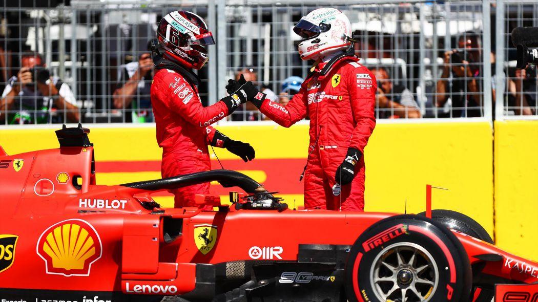 Formula 1 : Gp del Canada. La Ferrari c'è! Vettel vince ma è Hamilton a portarla a casa