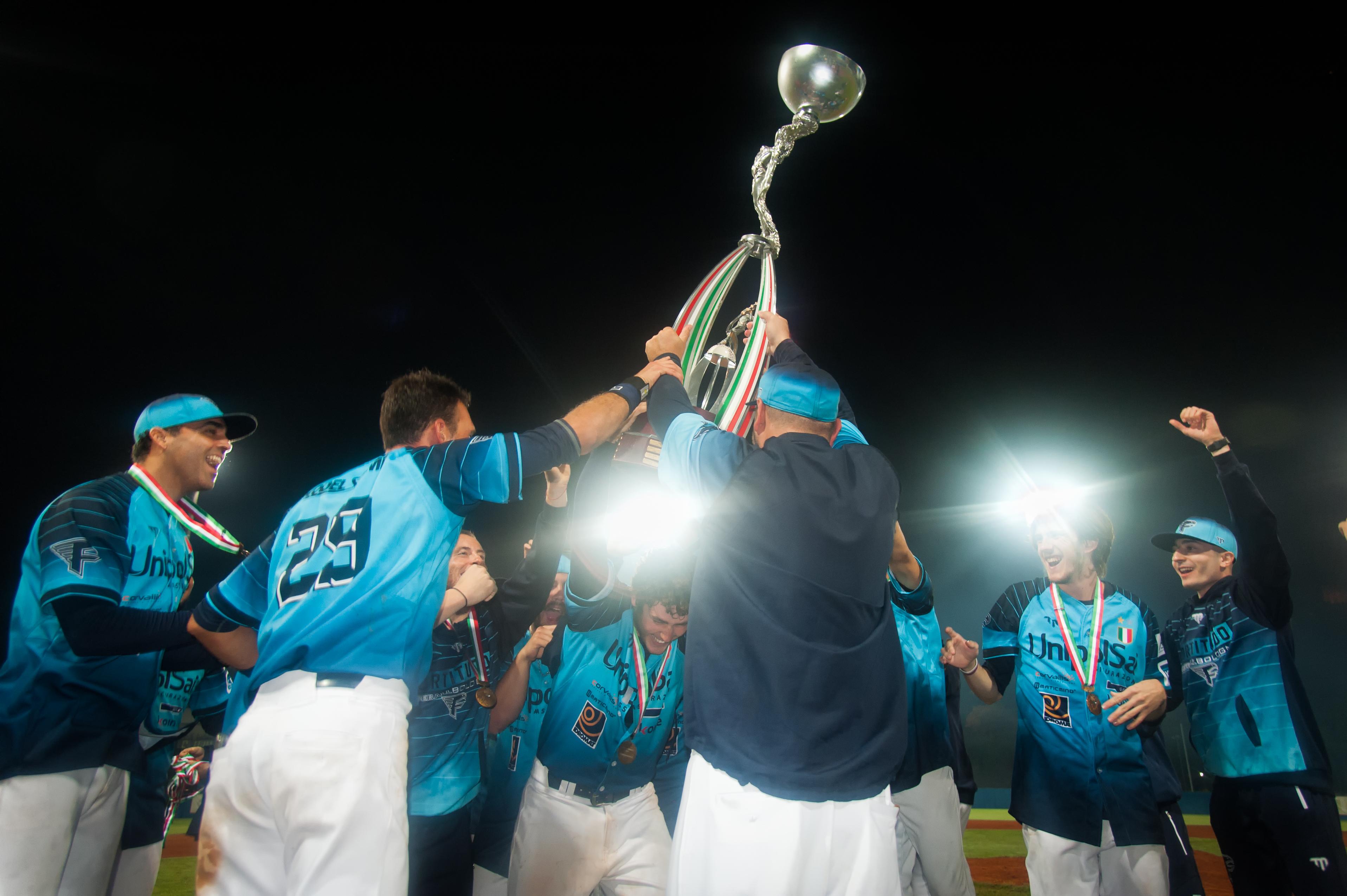 Fortitudo Baseball - L'UnipolSai sconfigge Titano, La Fortitudo si riconferma Campione d'Italia