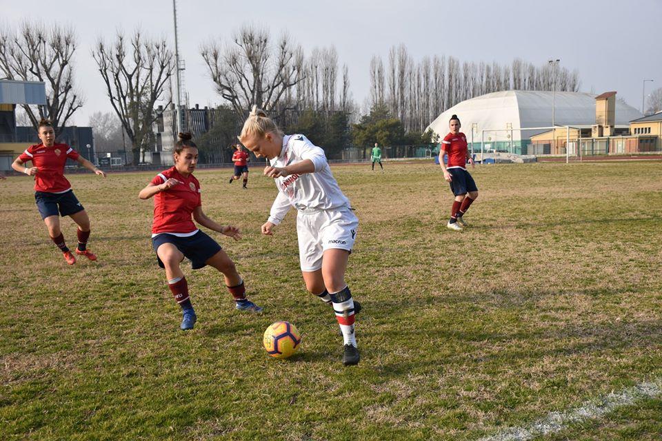 Bologna Femminile beffato all'ultimo minuto. Vince il Res Women 0-1