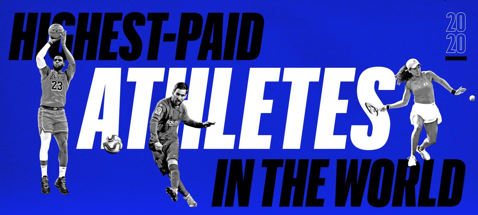 Classifica Forbes degli Atleti più pagati - Federer Re tra i Giganti