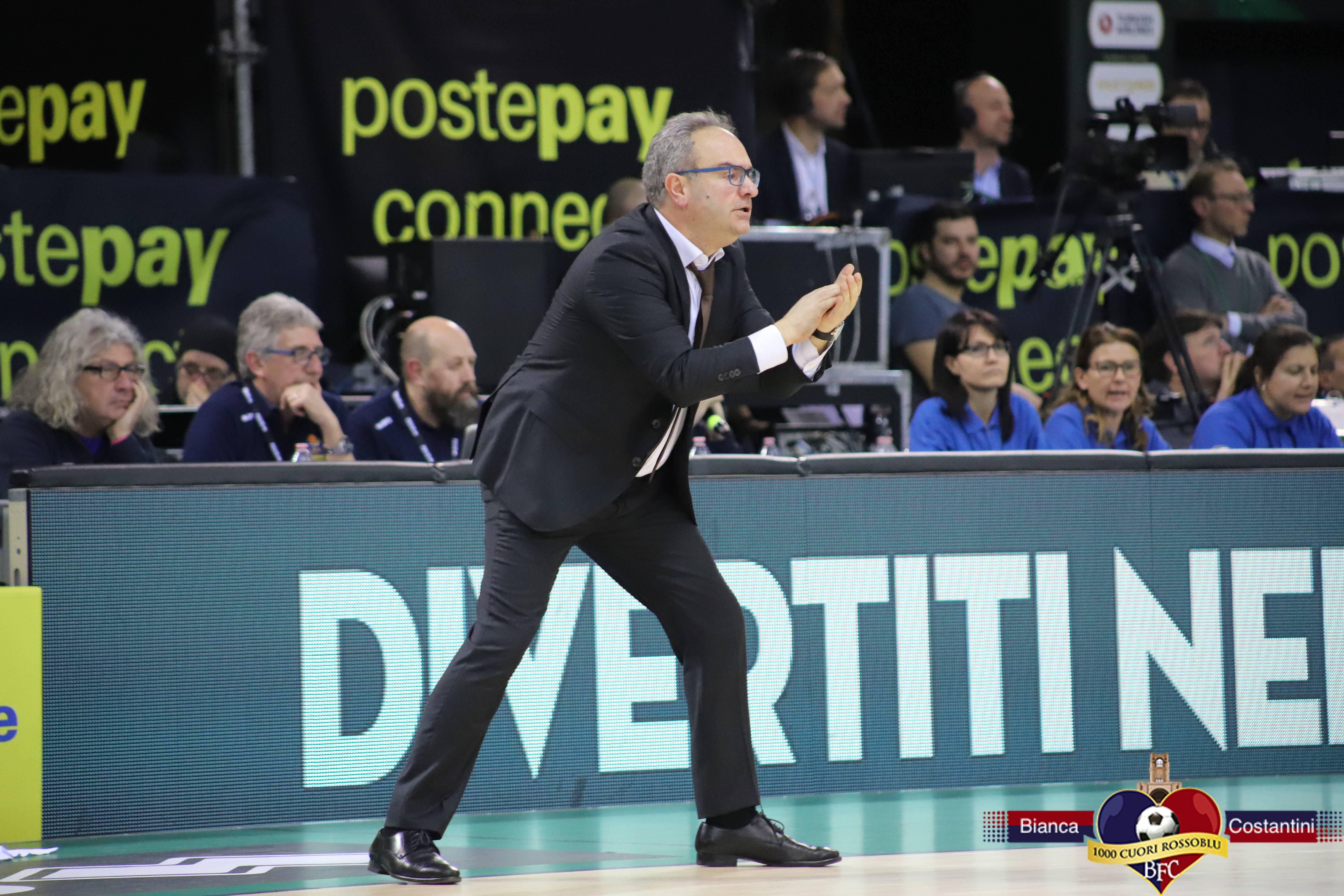Coppa Italia:Sacripanti presenta la partita Virtus Segafredo-Cremona