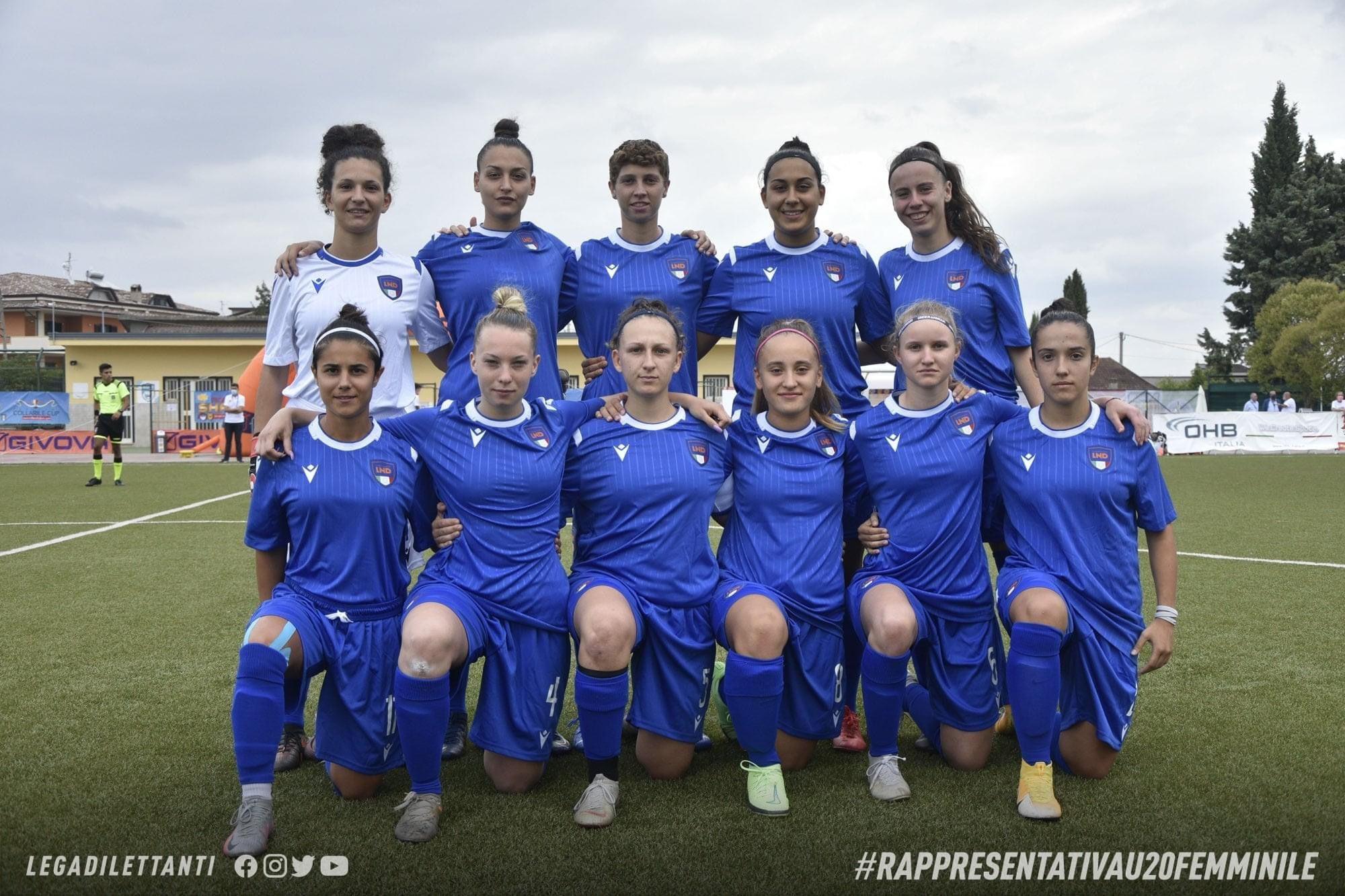 Sciarrone e Zanetti protagoniste con la Rappresentativa Nazionale LND Under 20