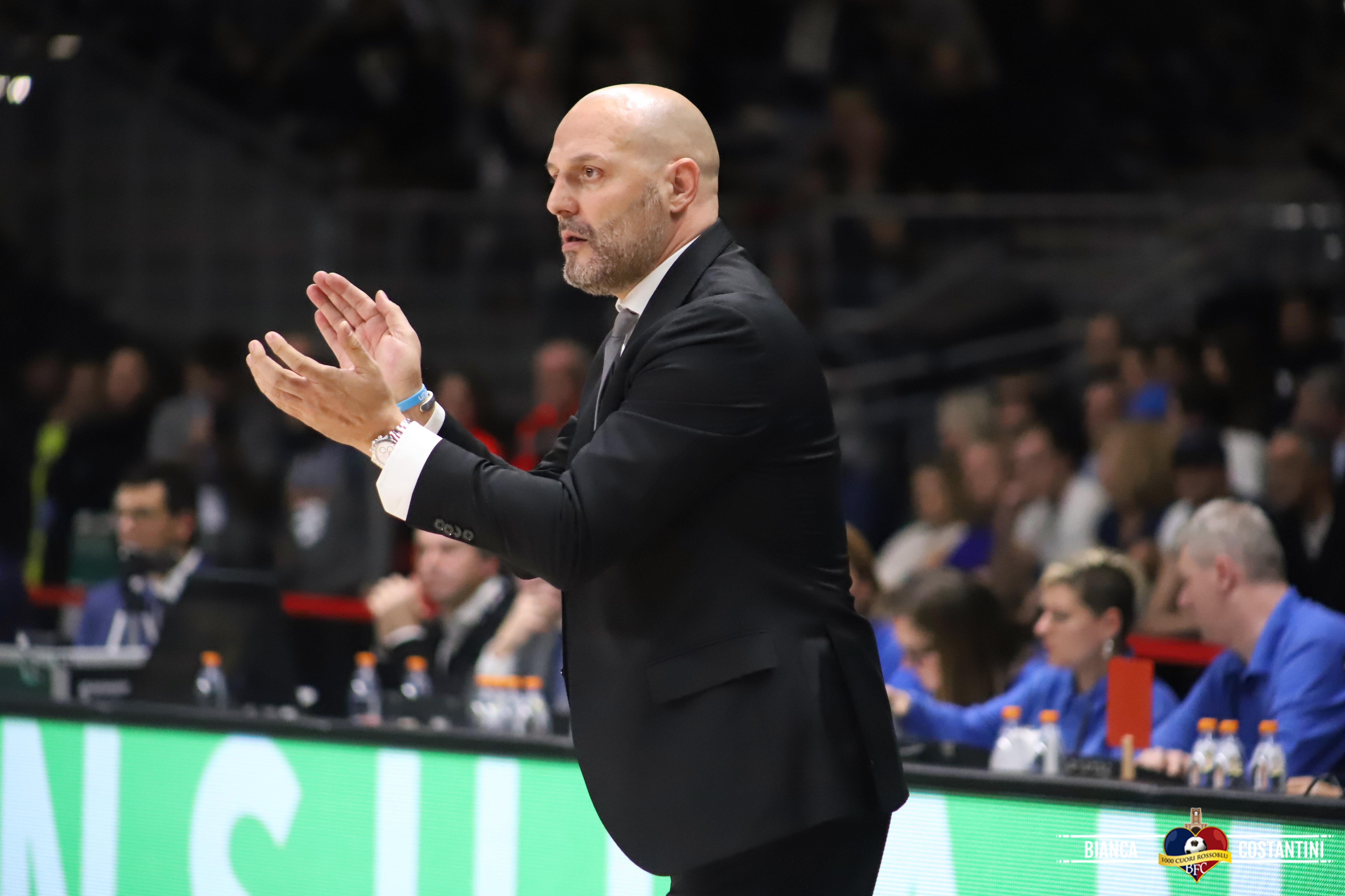 """Virtus Segafredo, parla coach Djordjevic: """"Siamo davvero tutti molto felici di tornare in palestra e di ricominciare"""""""