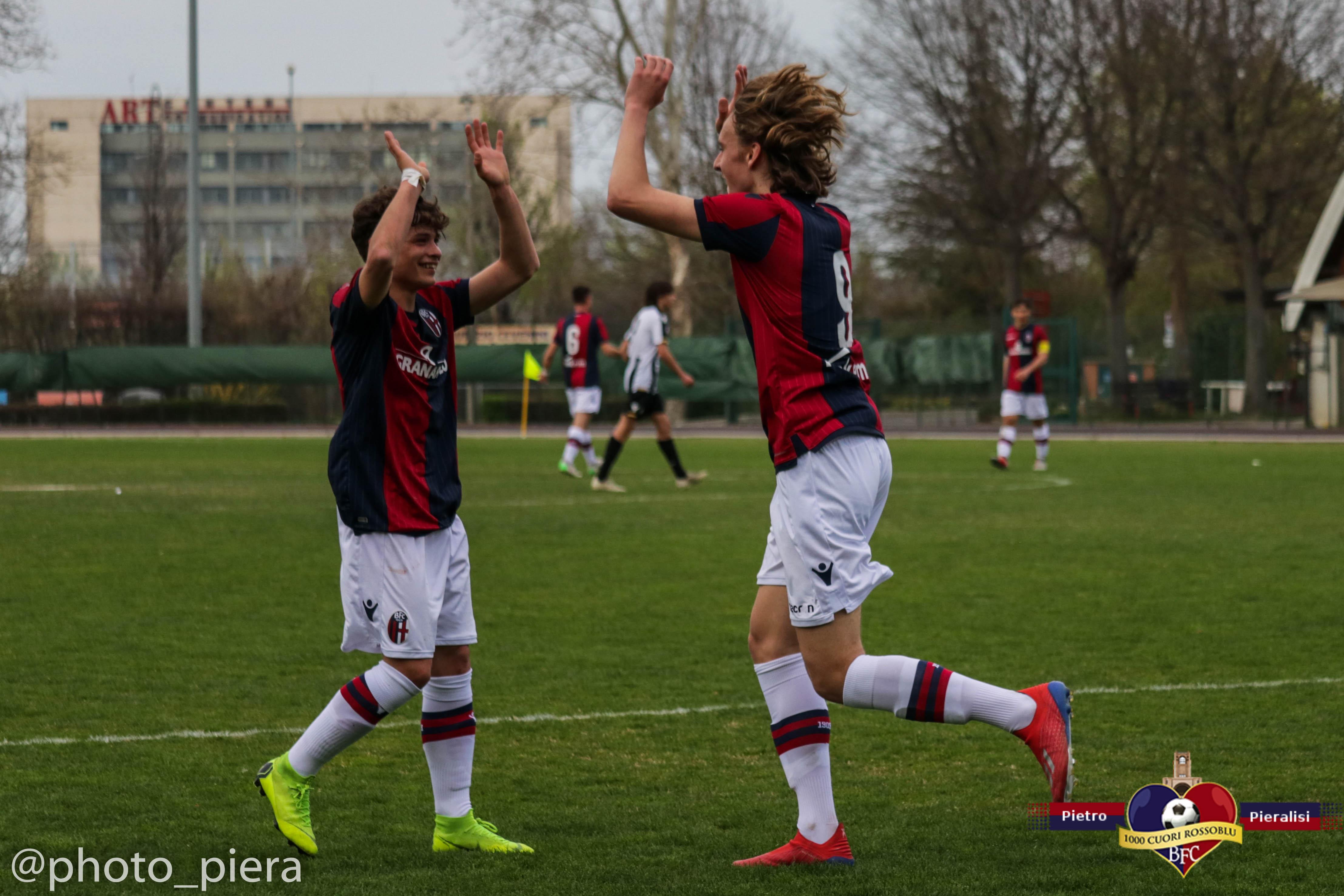 Under 17 : Bologna - Udinese 4-1 - Il Fotoracconto della partita