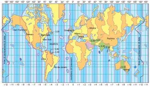 Cartina Fuso Orario Mondo.Novita Sito A Casa D Altri