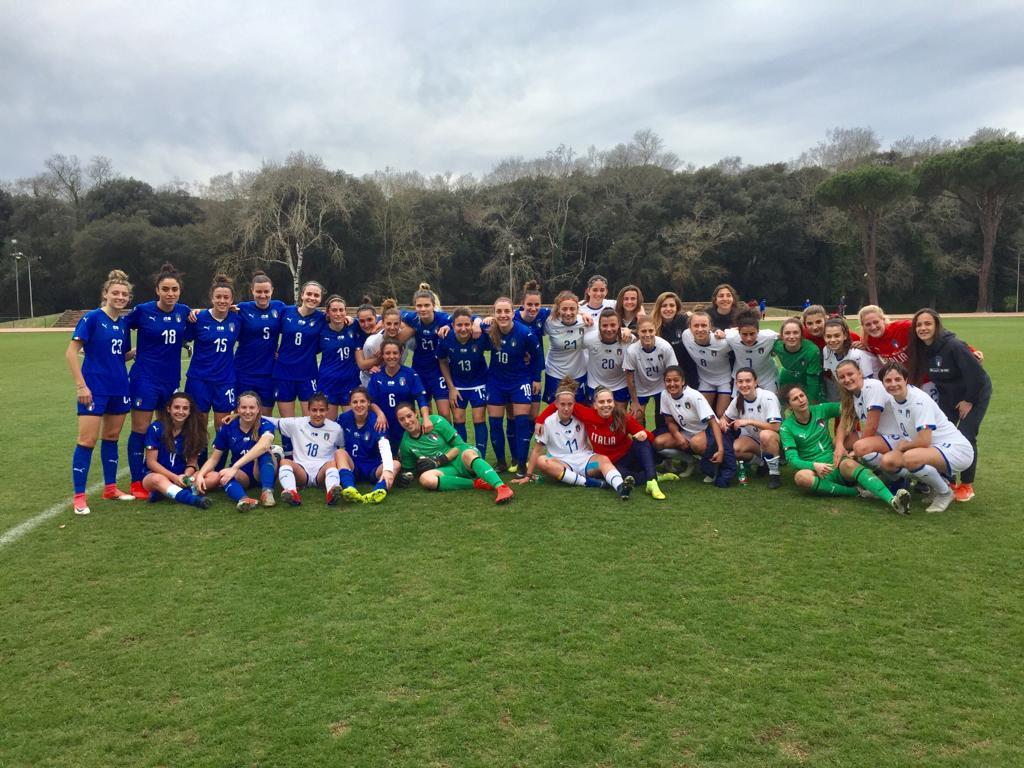 BFC Femminile: Trenta minuti in campo nelle amichevoli dell'Italia Under 23 per la Lauria