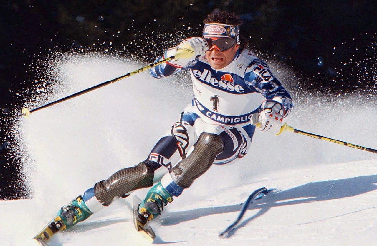 Corriere di Bologna - Alberto Tomba eletto miglior sciatore italiano di sempre