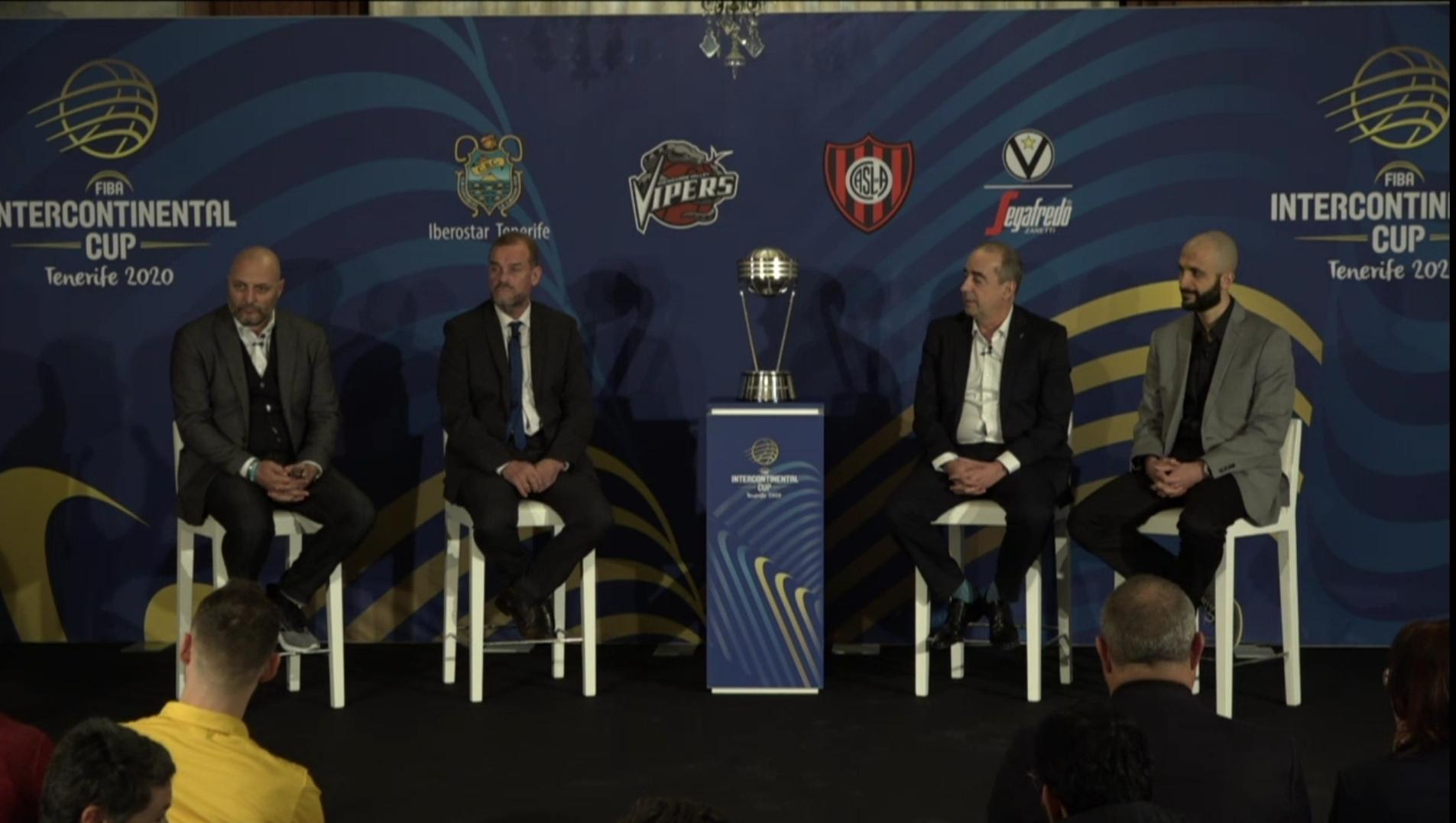 FIBA Intercontinental Cup: le parole di Djordjevic e Baldi Rossi nella conferenza stampa di presentazione