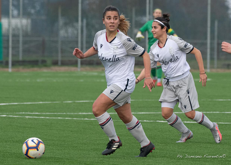 Bologna femminile corsaro, vittoria per 0-1 contro il Vis Civitanova