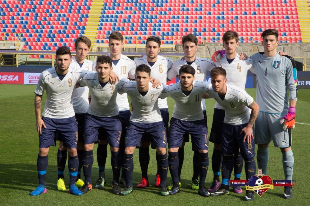 Under 19, Italia - Francia 3-3: la cronaca dell'incontro - 22 Feb