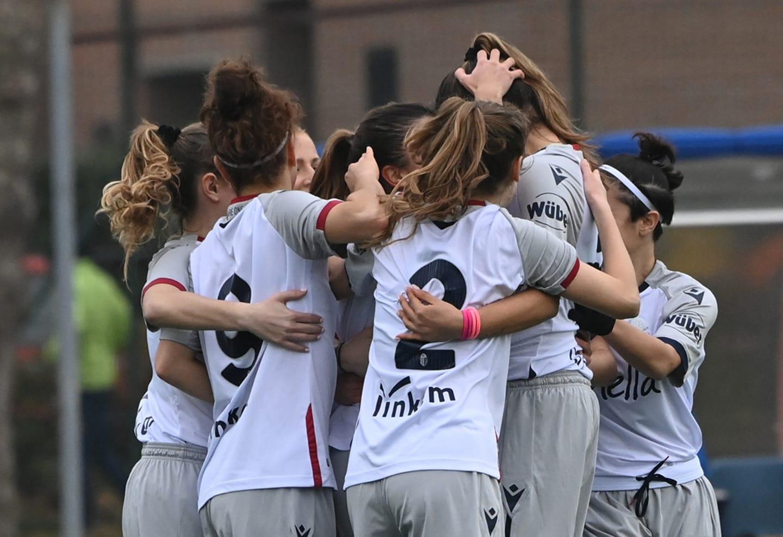 Bologna-Jesina 2-1. Il Bologna femminile sembra inarrestabile