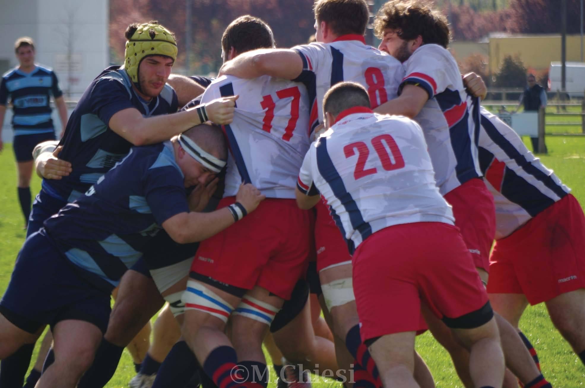 Rugby - Amatori Parma v. Bologna Rugby 1928 18-17 - 27 Mar