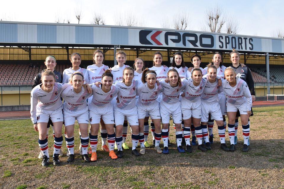 Bologna femminile - Campionato finito e salvezza ad un passo