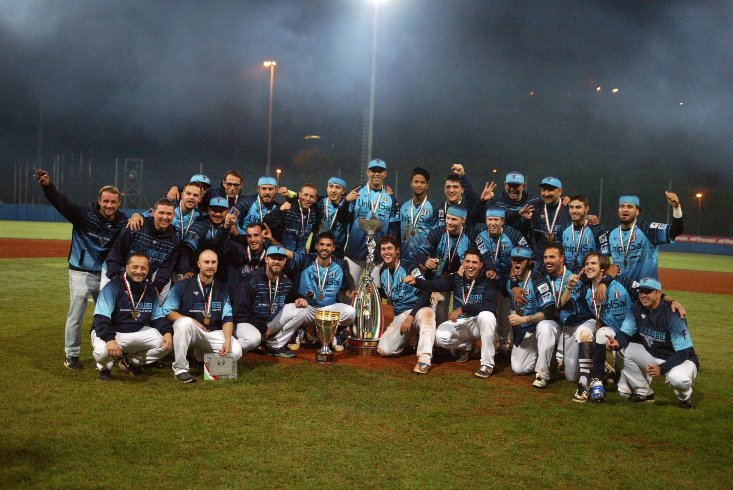 La Fortitudo baseball alla cerimonia Club Tricolori 2020