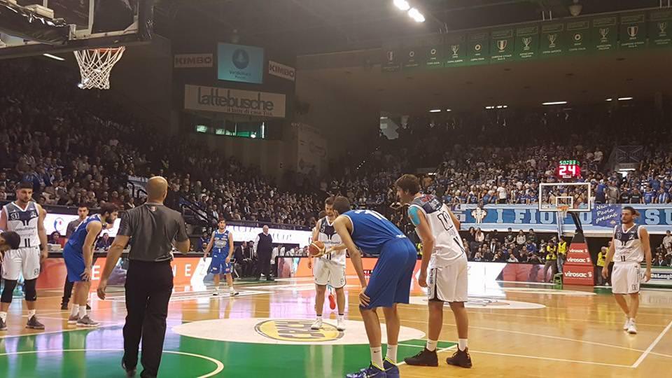 Fortitudo, arriva un'altra sconfitta. Vince Treviso 84-74 -3 Dic