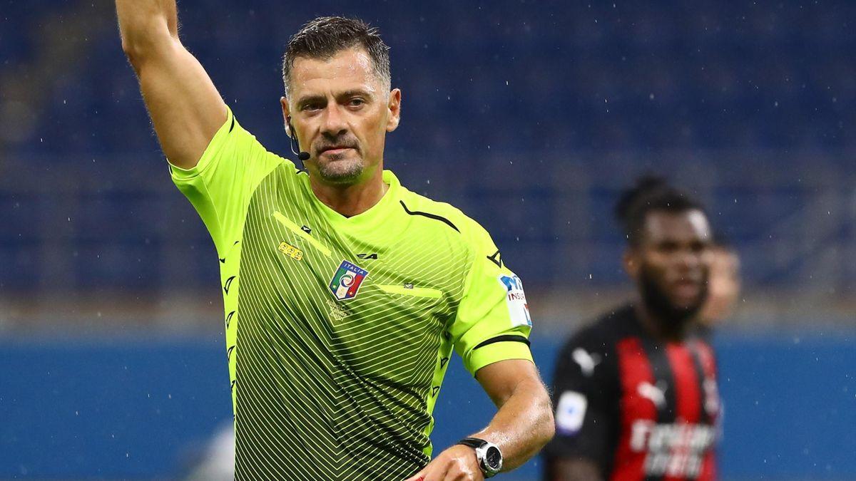 Bologna-Lazio, arbitra Giacomelli