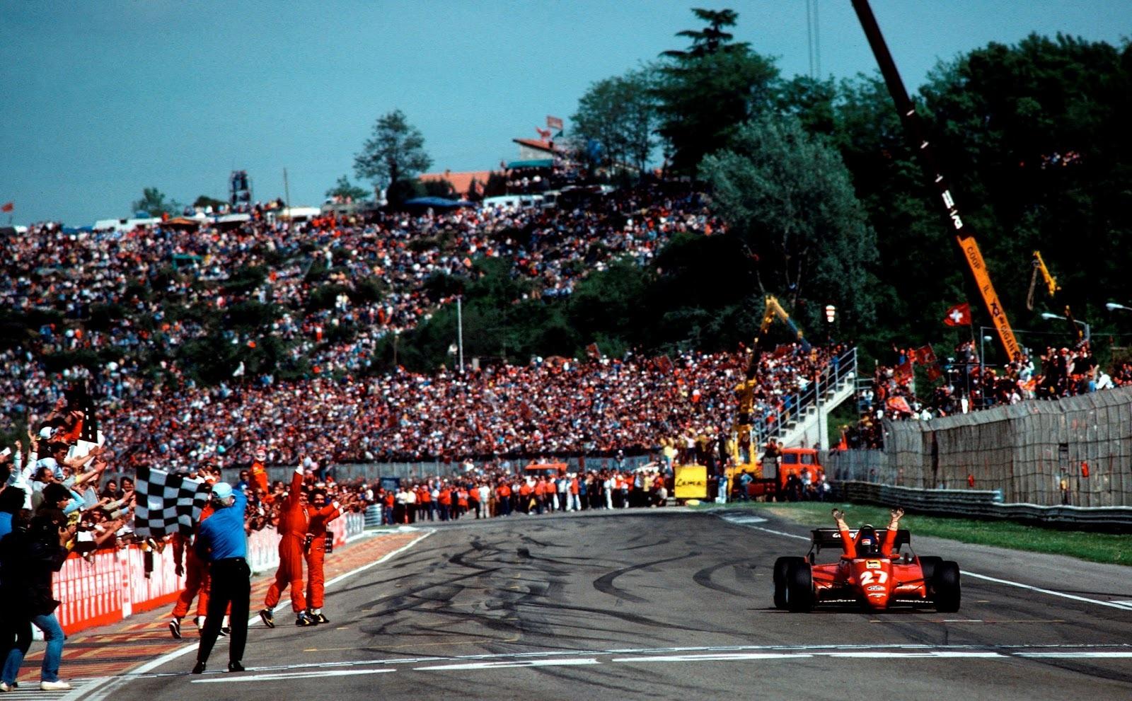 Imola '83: vincono la Ferrari e il ferrarismo