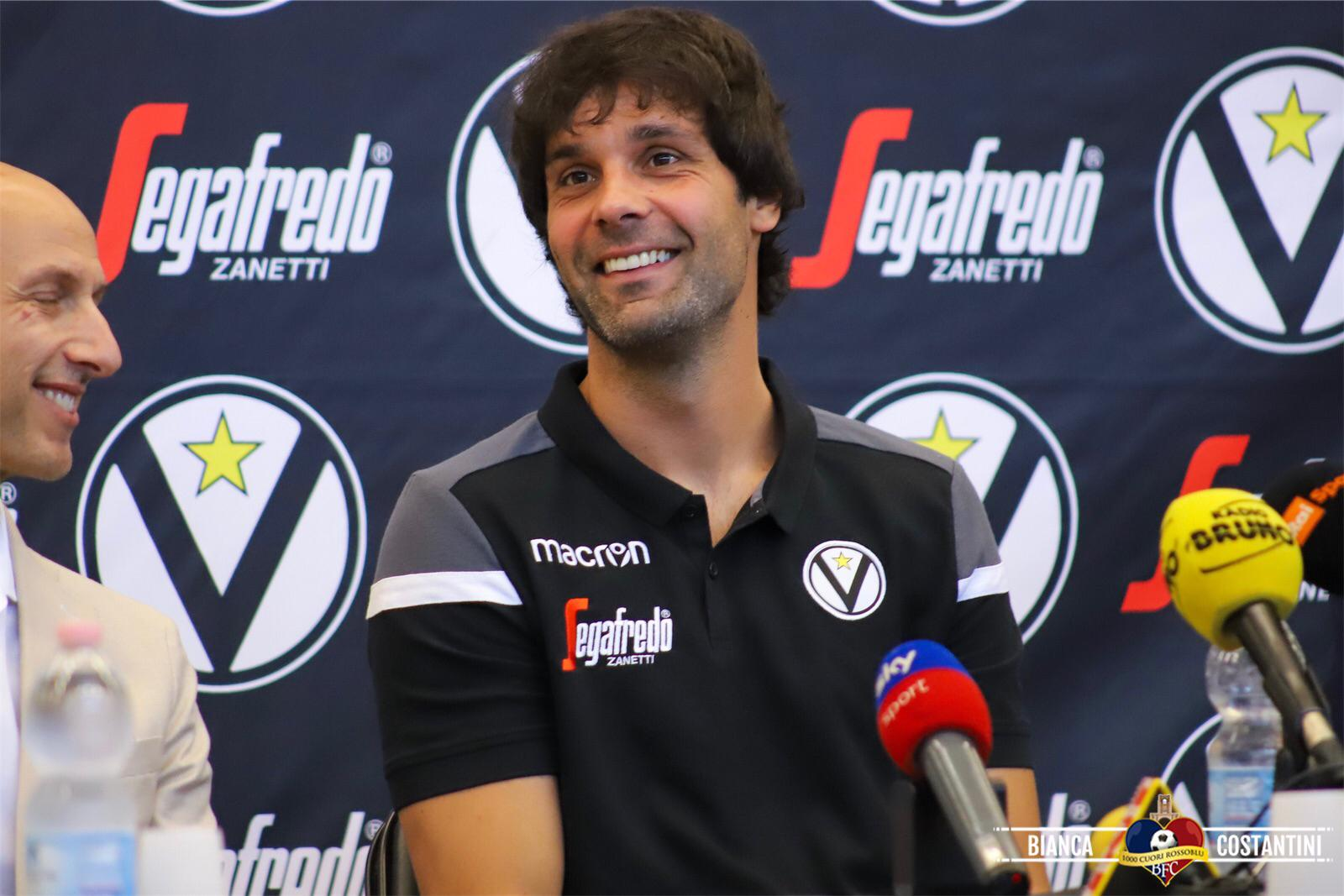 """La presentazione di Teodosic: """"Voglio tornare a giocare l'Eurolega con la maglia della Virtus"""""""
