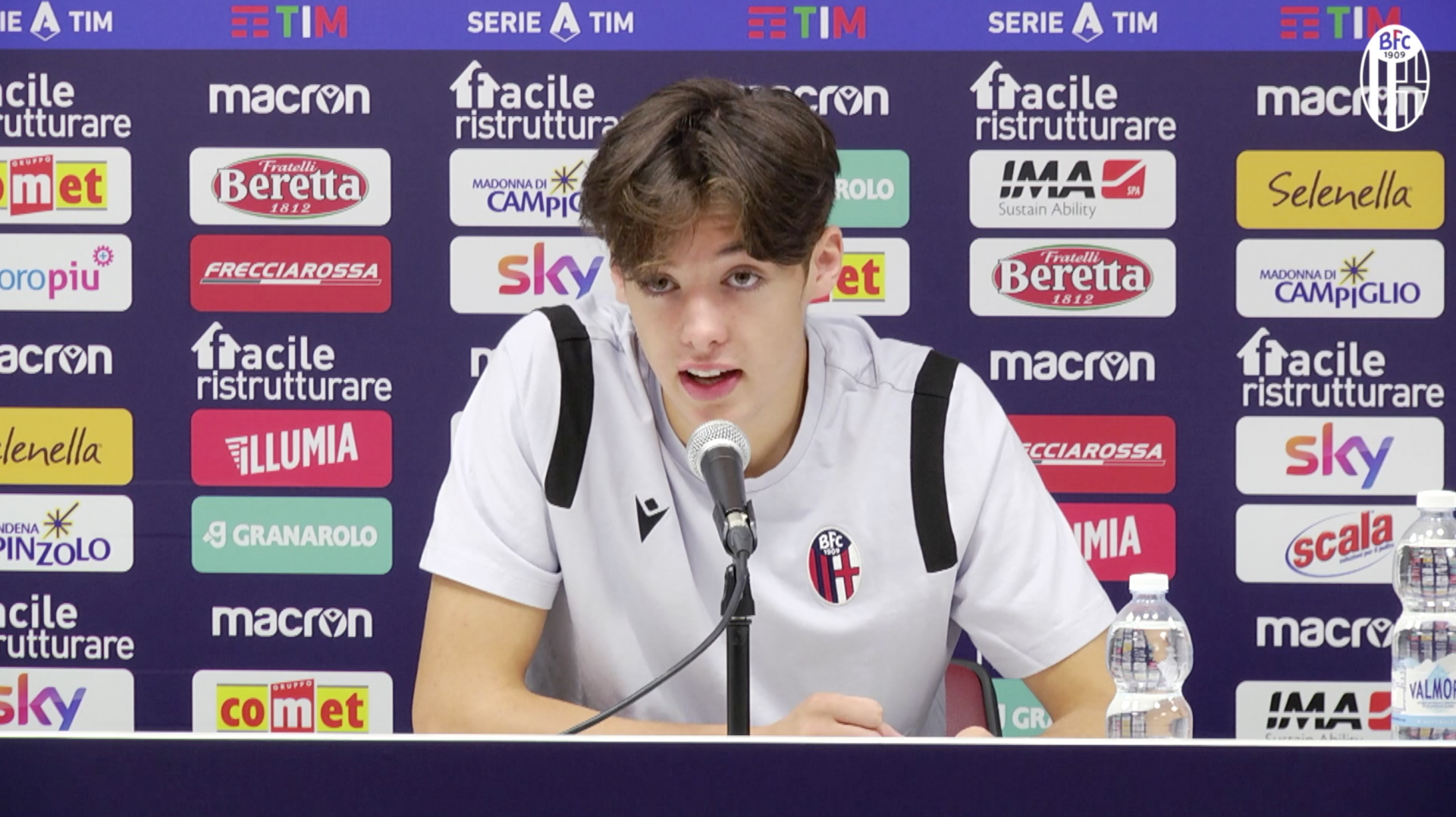 "Radio Casteldebole weekly - Hickey: ""It's amazing to be here in Bologna"". Dijks is injured, the Scottish youngster might play against Benevento"