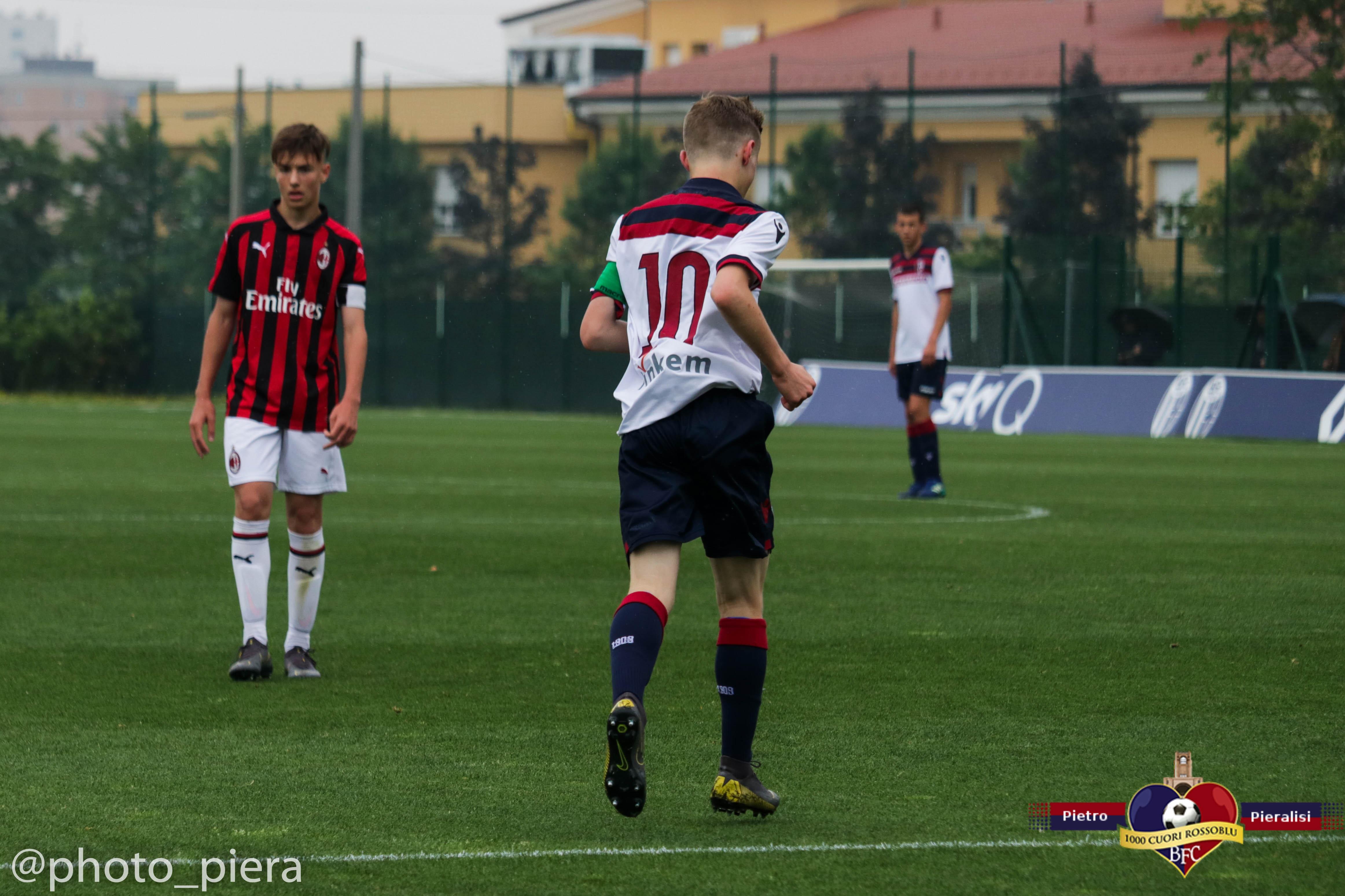 Under 15, Bologna-Milan 0-2: le foto della gara