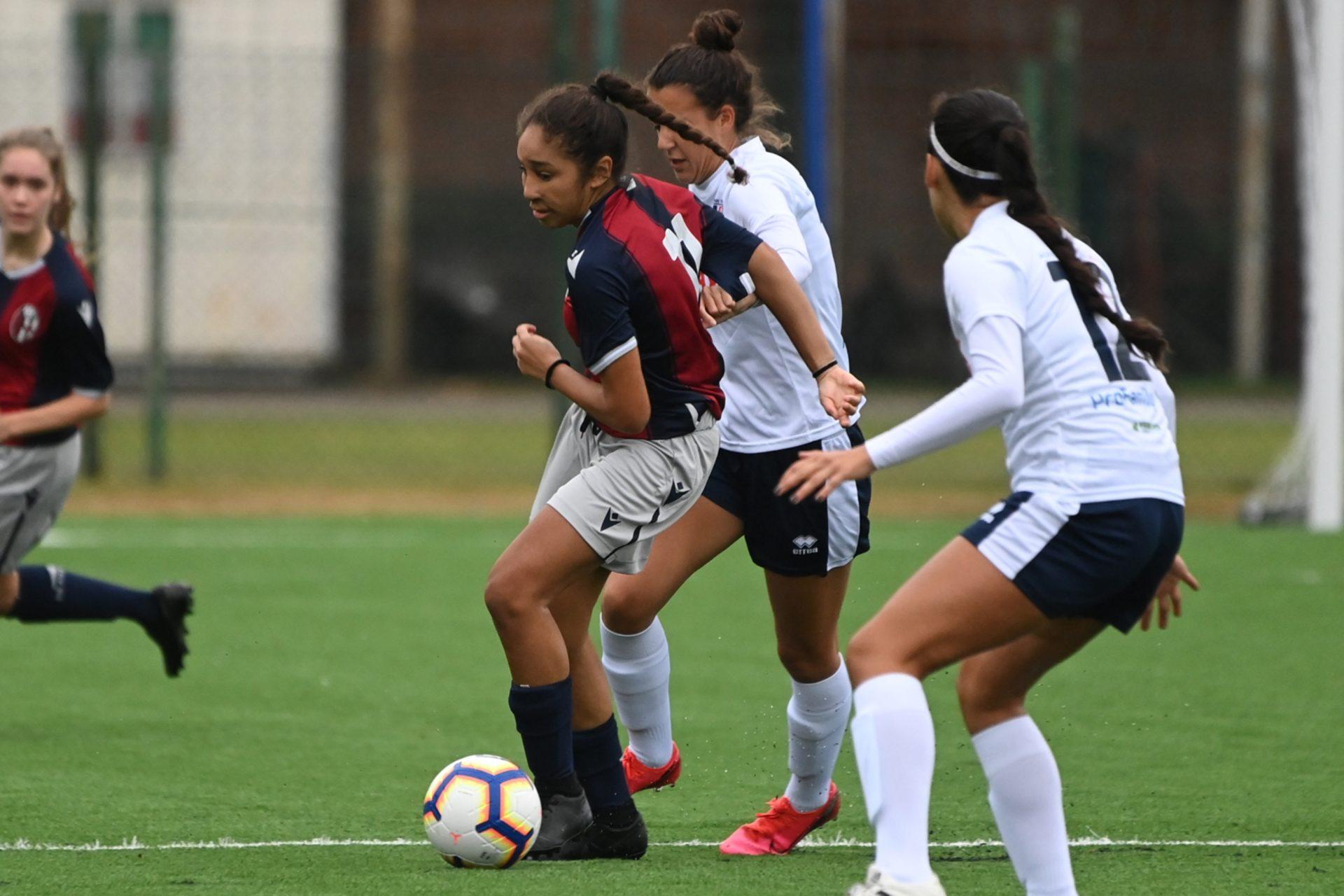 Bologna femminile, arriva la decima. Battuto il Ducato Spoleto per 1-4