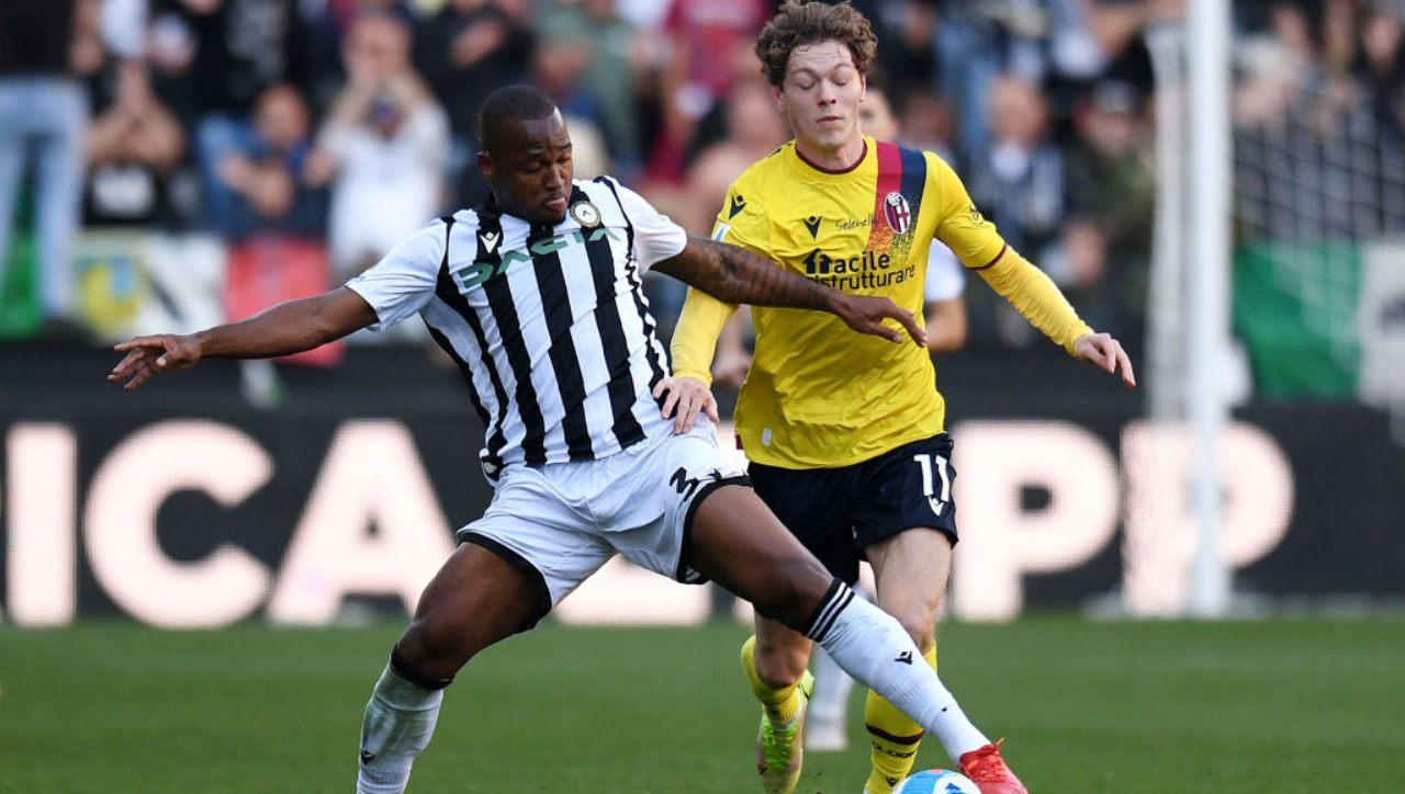 Il film della partita: Udinese-Bologna in 5 momenti