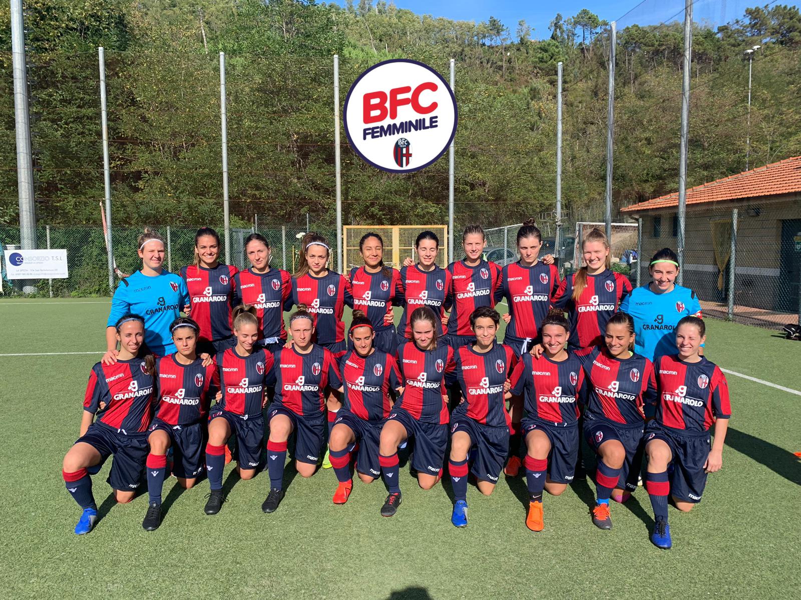Bologna femminile - Sconfitta per 4-2 a La Spezia