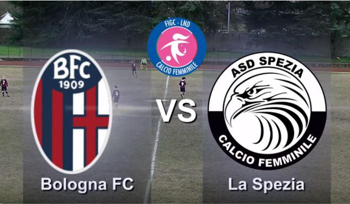 Il Bologna femminile perde 0-2 contro lo Spezia