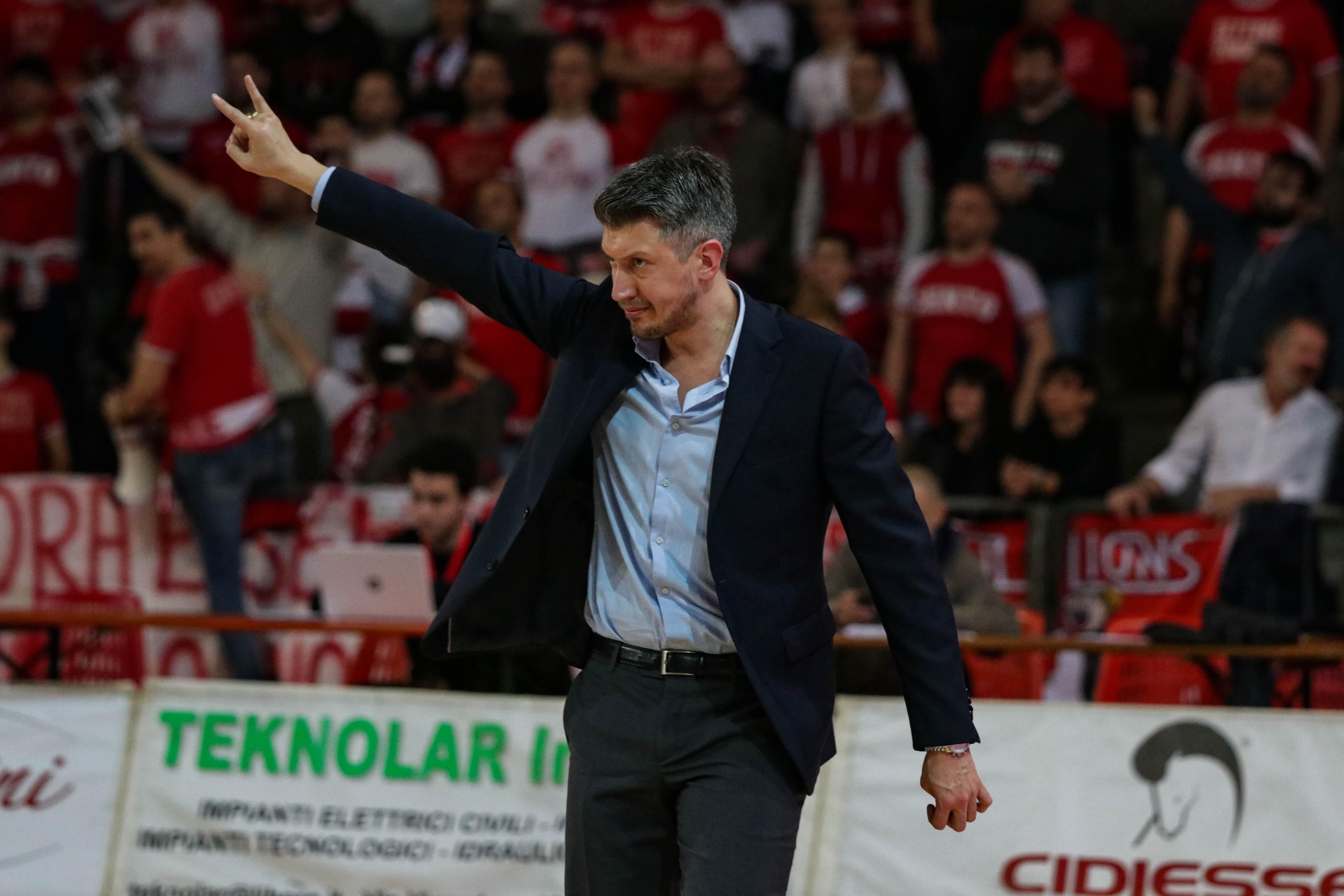 Cento-Latina: il pre-partita di Coach Mecacci
