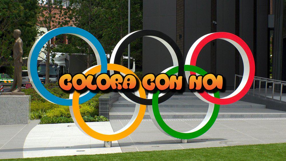 Colora con noi! Tre disegni con cui colorare i cerchi olimpici