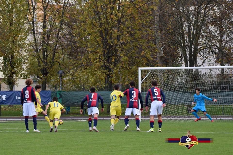 Under 17, I rossoblù calano il tris: sconfitto anche il Chievo per 1-0