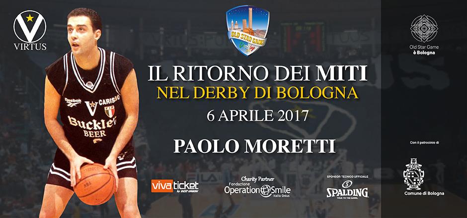 """Old Star Game, Moretti: """"Il tiro da 4 di Danilovic? Il momento più triste della mia carriera"""" - 24 mar"""