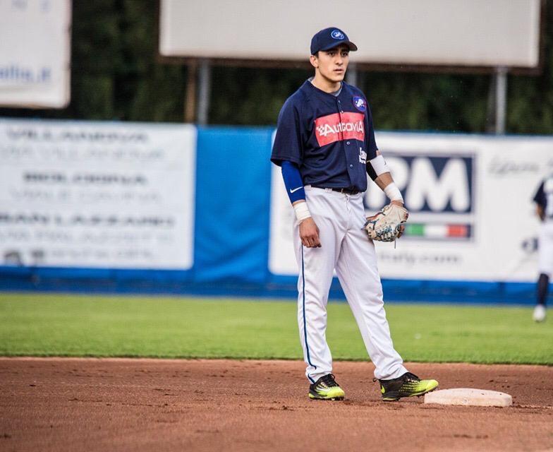 Julian Dreni: giovane talento della Fortitudo Baseball