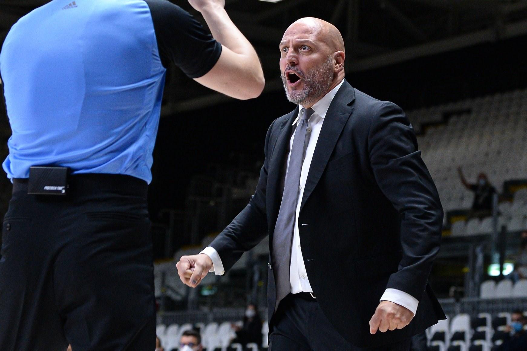 """Virtus Segafredo-Trieste, Djordjevic: """"Dovremo essere molto bravi per portare a casa questa vittoria"""""""