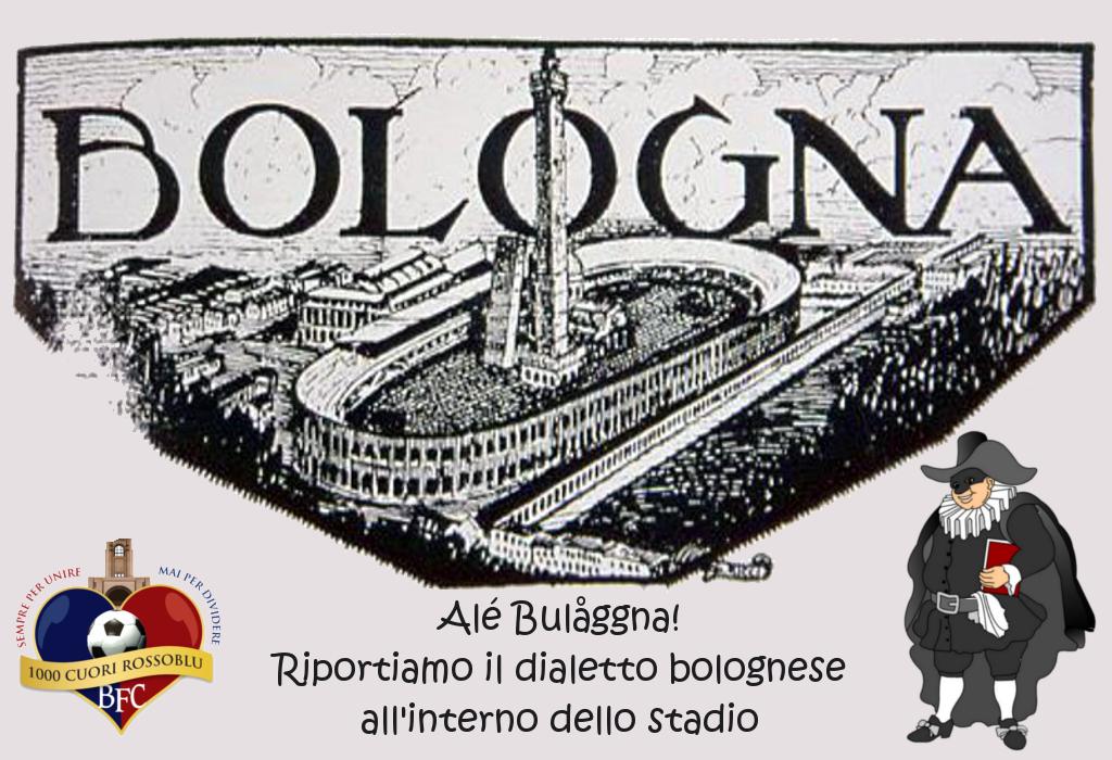 """Alé Bulåggna: """"An vàdder gnànch un prìt int la nàiv"""""""